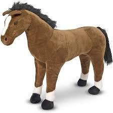 Melissa & Doug Lifelike Stuffed Horse