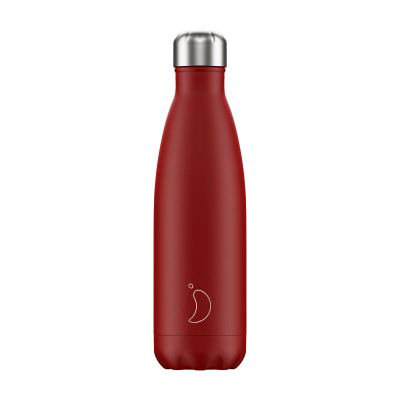 CHILLY'S BOTTLE 500ML MATTE RED