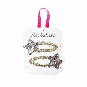 ROCKAHULA STAR GLITTER CLIPS