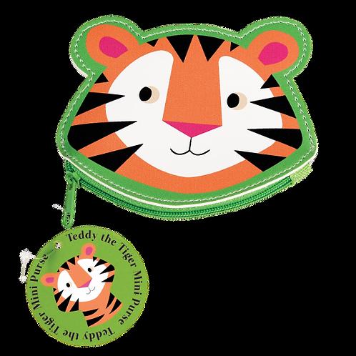 Teddy the Tiger Vinyl Purse