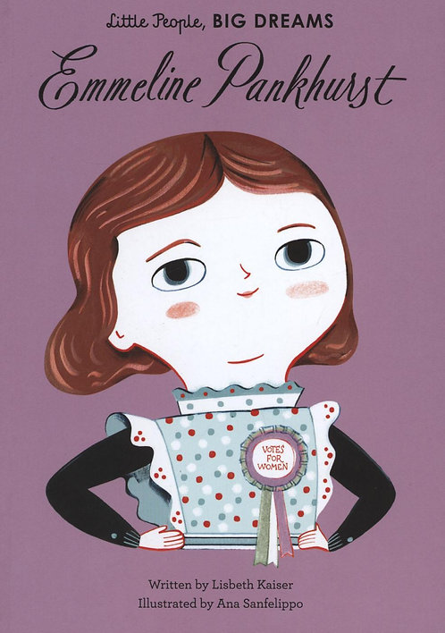 Emmeline Pankhurst by Lisbeth Kaiser