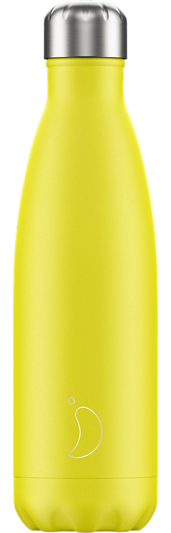 CHILLY'S BOTTLE 500ML - NEON YELLOW