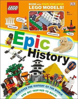 LEGO Epic History: Includes Four Exclusive LEGO Mini Models  DK