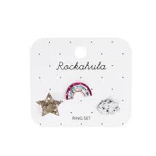 ROCKAHULA RAINBOW RING SET