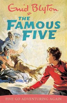 Famous Five Adventuring Again Centenary by Enid Blyton