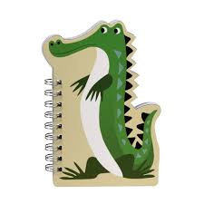 Harry the Crocodile Notebook