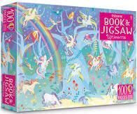 Usborne Unicorns Book & 100 Piece Jigsaw