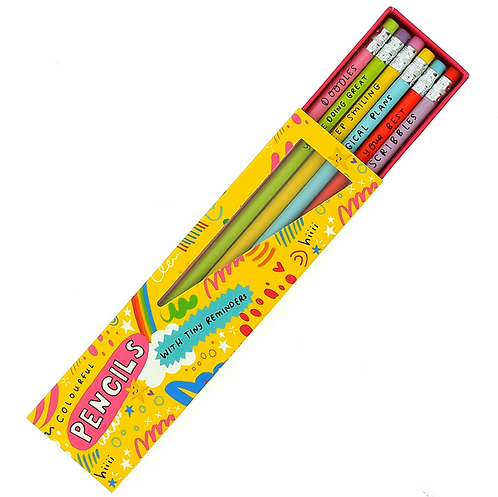 Happy News Pencil Set