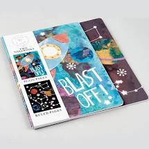 Blast Off! Set of 2 Notebooks