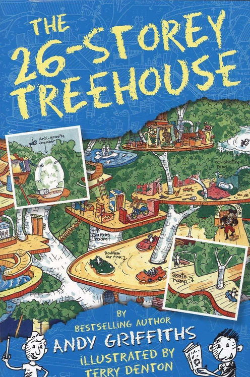 The 26-Storey Treehouse Andy Griffiths