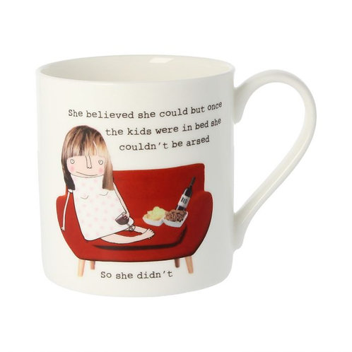 Rosie Made A Thing - She Believed She Could Mug