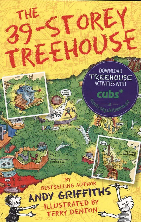 The 39-Storey Treehouse Andy Griffiths