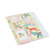 Jungle Themed Set of 2 Notebooks