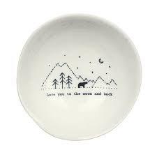 East of India Porcelain Bowl