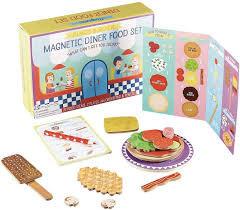 Magnetic Dinner Food Set