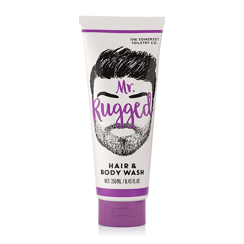 MR RUGGED HAIR & BODY WASH