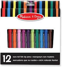 Melissa & Doug Set of 12 Coloured Pens