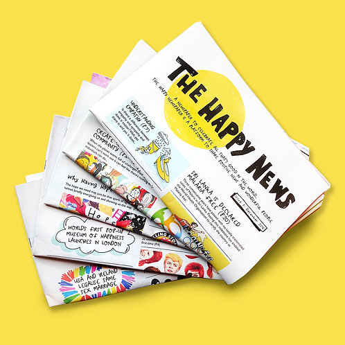 The Happy Newspaper - Latest Issue
