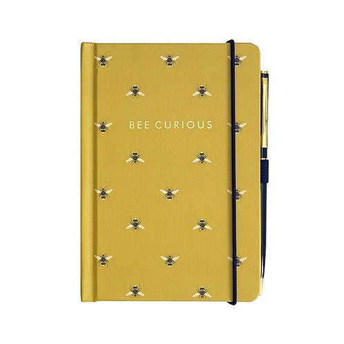 JOULES BEE CURIOUS A6 NOTEBOOK & PEN