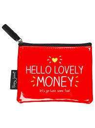 Hello Lovely Money Coin Purse