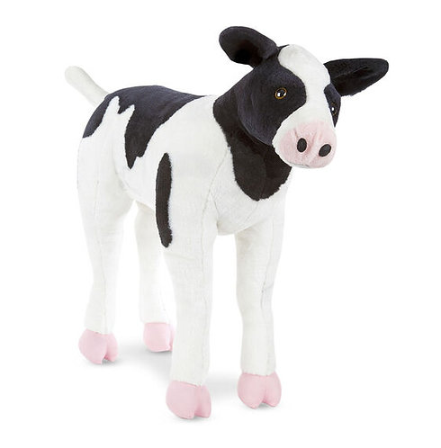 Melissa & Doug Lifelike Stuffed Calf