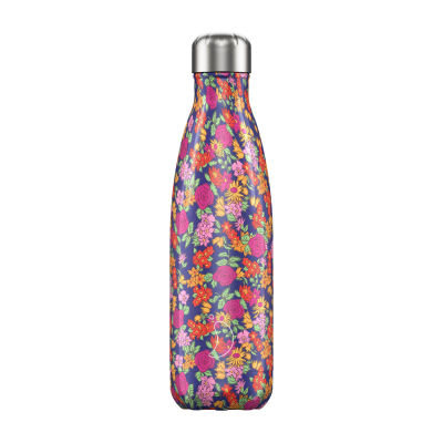 CHILLY'S BOTTLE 500ML FLORAL WILD ROSES