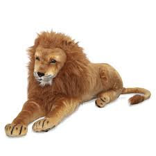 Melissa & Doug Lifelike Stuffed Lion