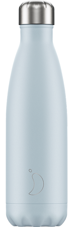 CHILLY'S BOTTLE 500ML - BLUSH BLUE