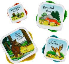 Gruffalo - Set of 4 Feasting Boxes