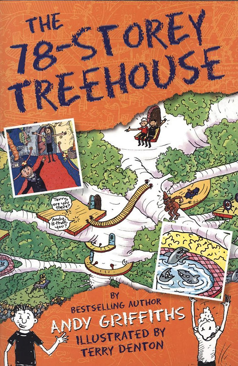 The 78-Storey Treehouse Andy Griffiths