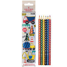Construction Themed Coloured Pencils