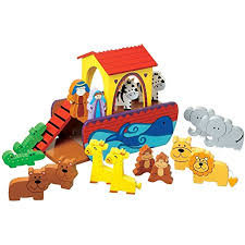 Orange Tree Toys Wooden Noah's ark