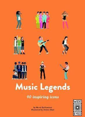 40 Inspiring Icons: Music Legends by Herve Guilleminot
