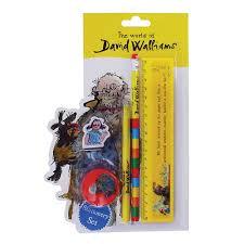 World of Walliams - Mr Stink Stationery Set