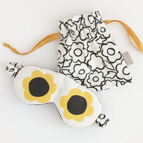 FLOWER EYEMASK IN POUCH