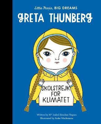 Greta Thunberg Vegara by Maria I Sanchez
