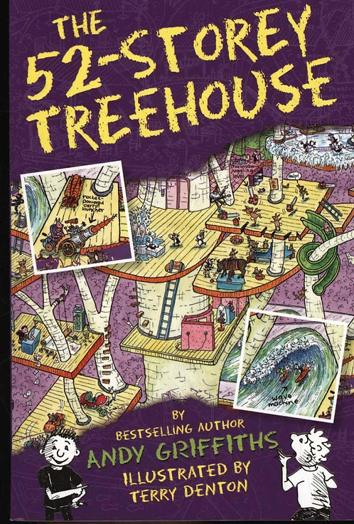 The 52-Storey Treehouse Andy Griffiths