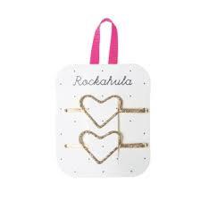 ROCKAHULA HEART GLITTER CLIPS