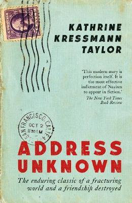 Address Unknown Kathrine Kressm Taylor