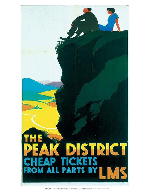 Peak District by Rail Poster