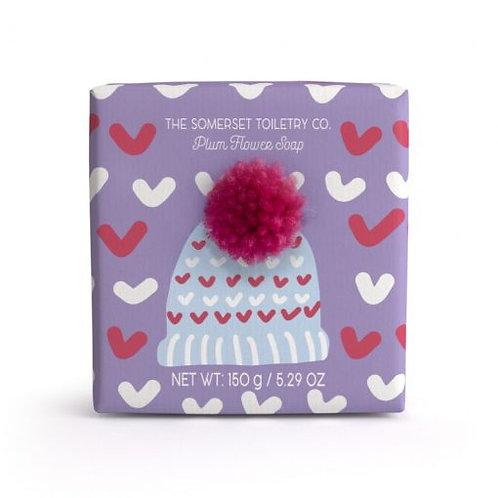 Bobble Hat Soap - Plum Flower
