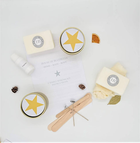 Candle Making Kit - Clean Cotton