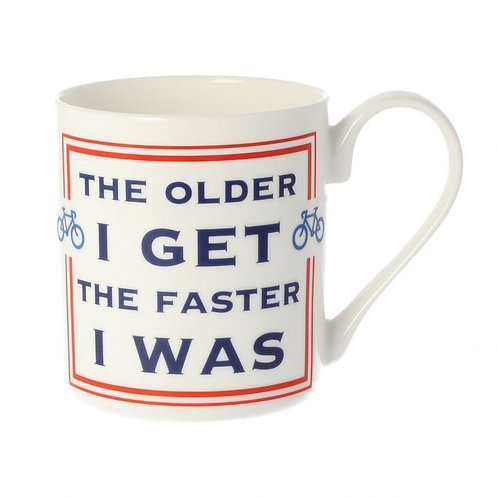 The Older I Get Mug