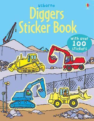 Diggers Sticker Book by Dan Crisp