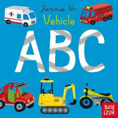 Vehicles ABC by Jannie Ho