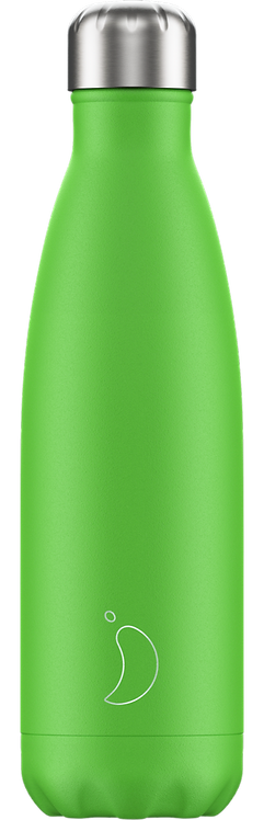 CHILLY'S BOTTLE 500ML - NEON GREEN