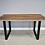 Thumbnail: Beautiful Wooden Edge Dining Table