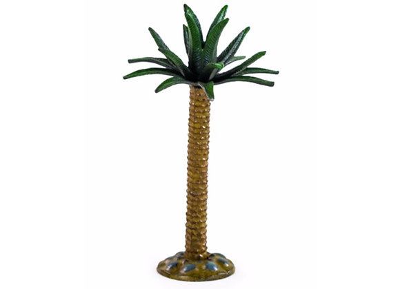 Large Cast Iron Palm Tree Candle Stick