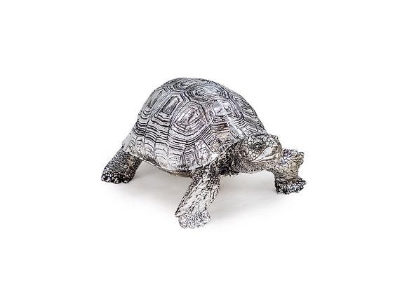 Small Tortoise Figure (Silver)
