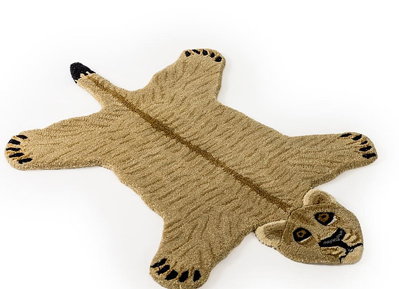 Quirky Hand Tufted Lioness Woollen Rug